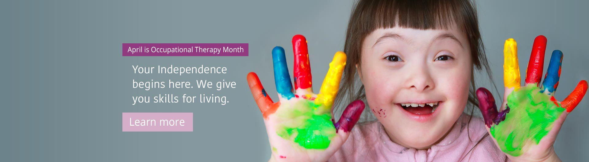 Occupational Therapy Month